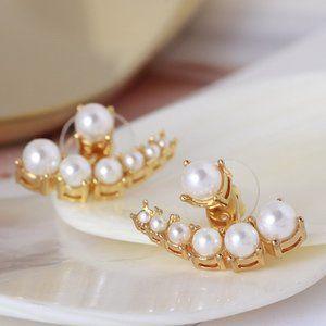 🎁kate spade scalloped earrings